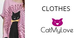 Clothes theme cat