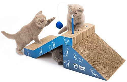 cat scratcher play toy scratching post protect your cat safe furniture